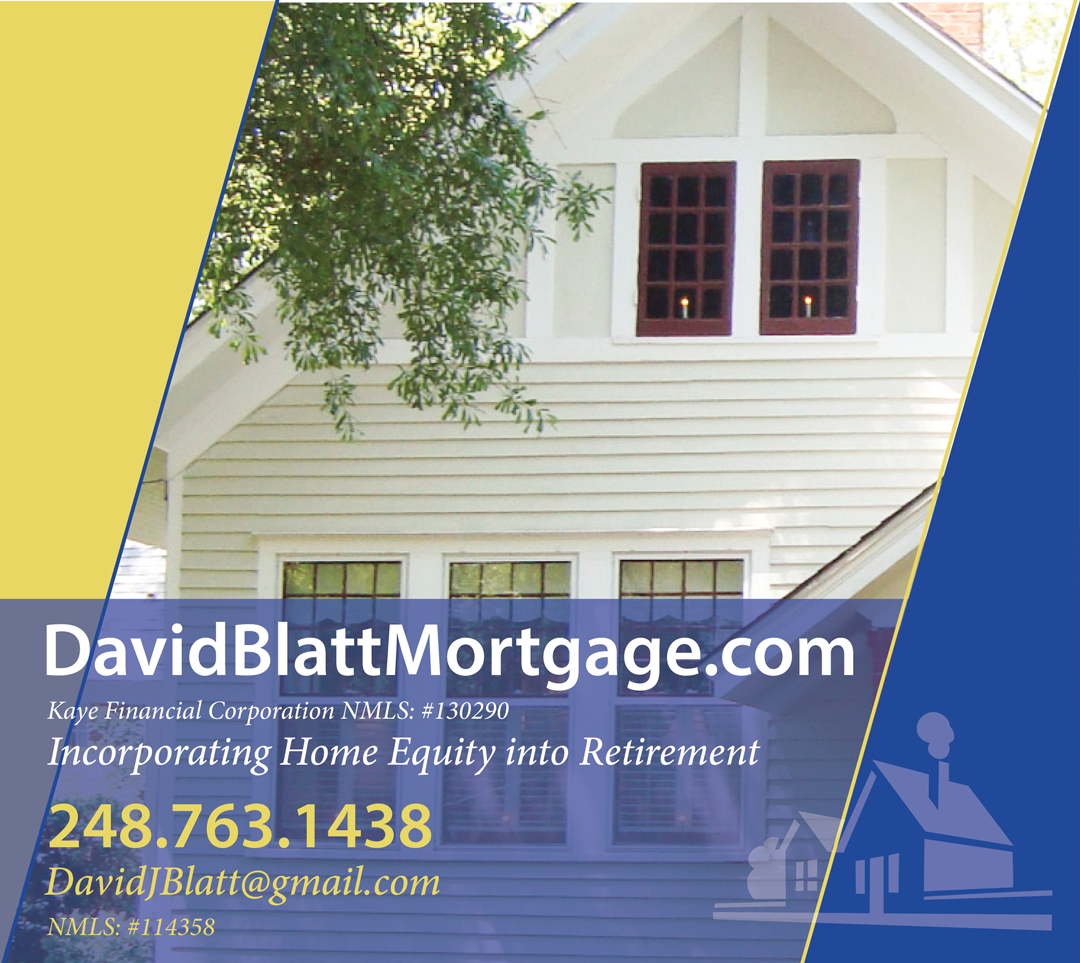 David Blatt Mortgage Advertisement